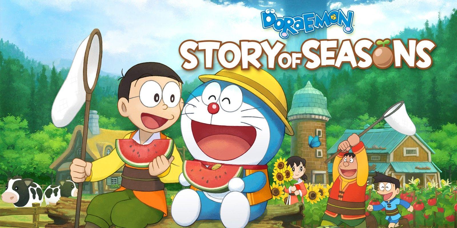 Jeu Doraemon Story of Seasons sur Nintendo Switch (vendeur tiers)