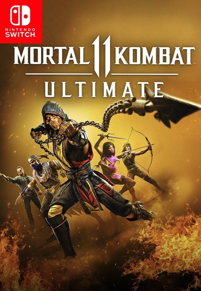 Mortal kombat ultimate 11 sur Nintendo Switch (Dématérialisé)