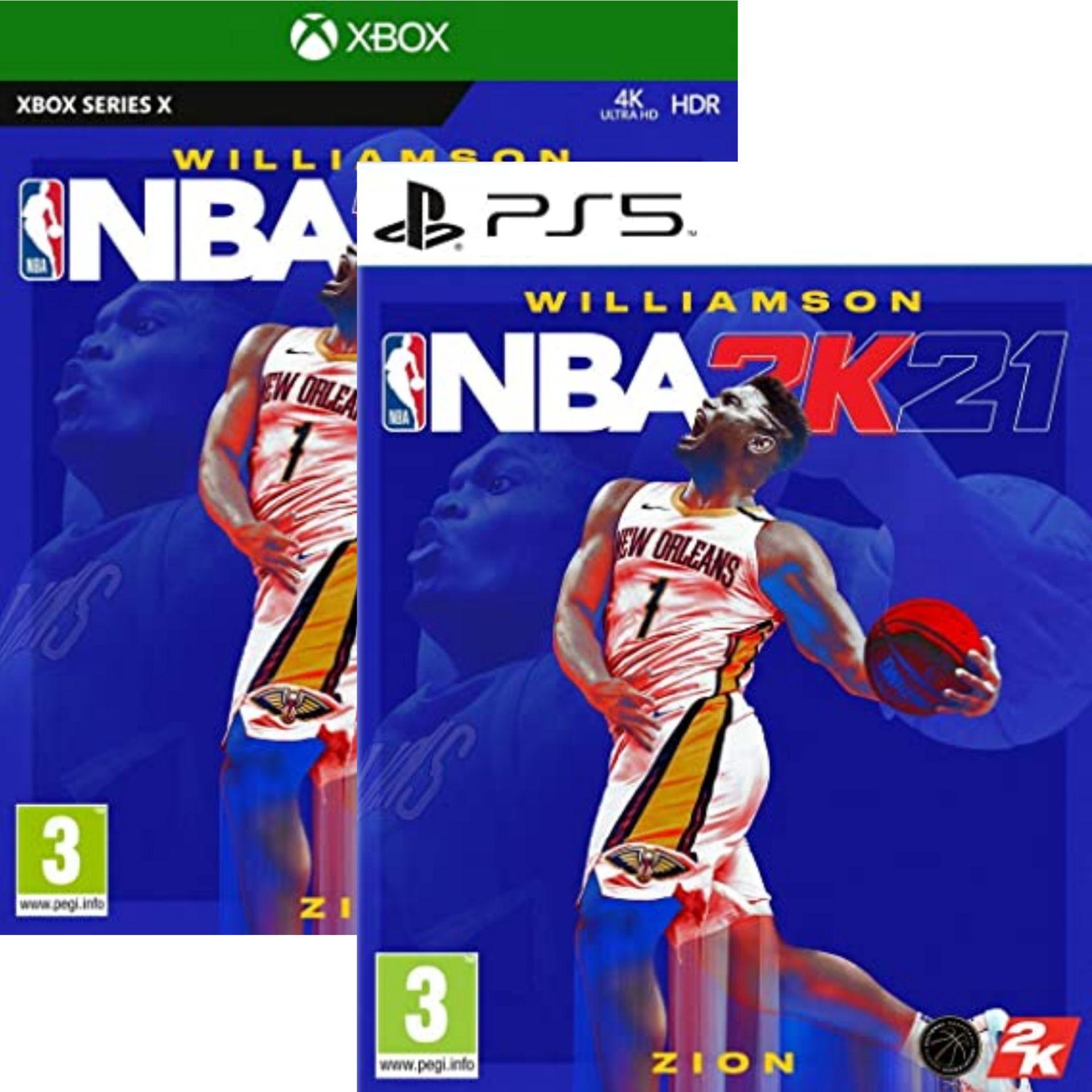 NBA 2K21 sur PS5 ou Xbox Series X (PS4 à 14.99€)