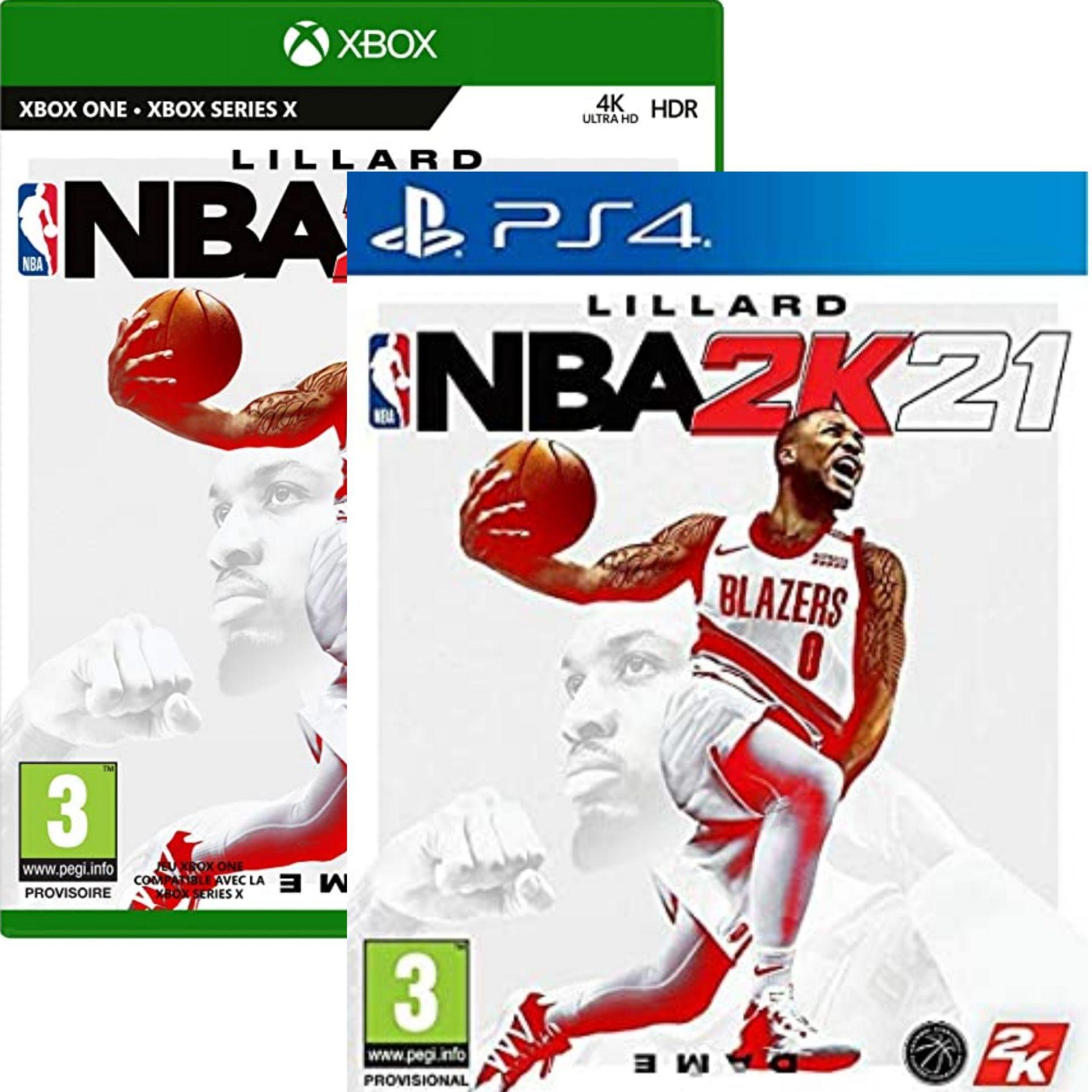 NBA 2K21 sur PS4 ou Xbox One