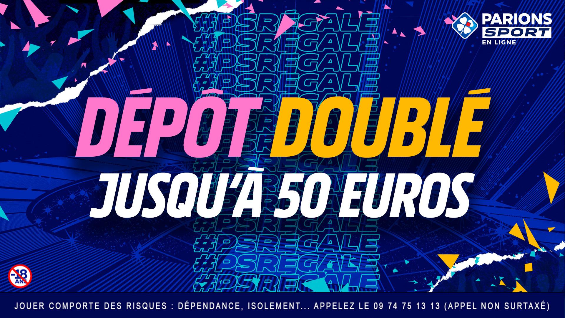 [Clients] Dépôts remboursés & doublés en freebets jusqu'à 50€ - Ex : dépôt de 50€ = 50€ en freebets