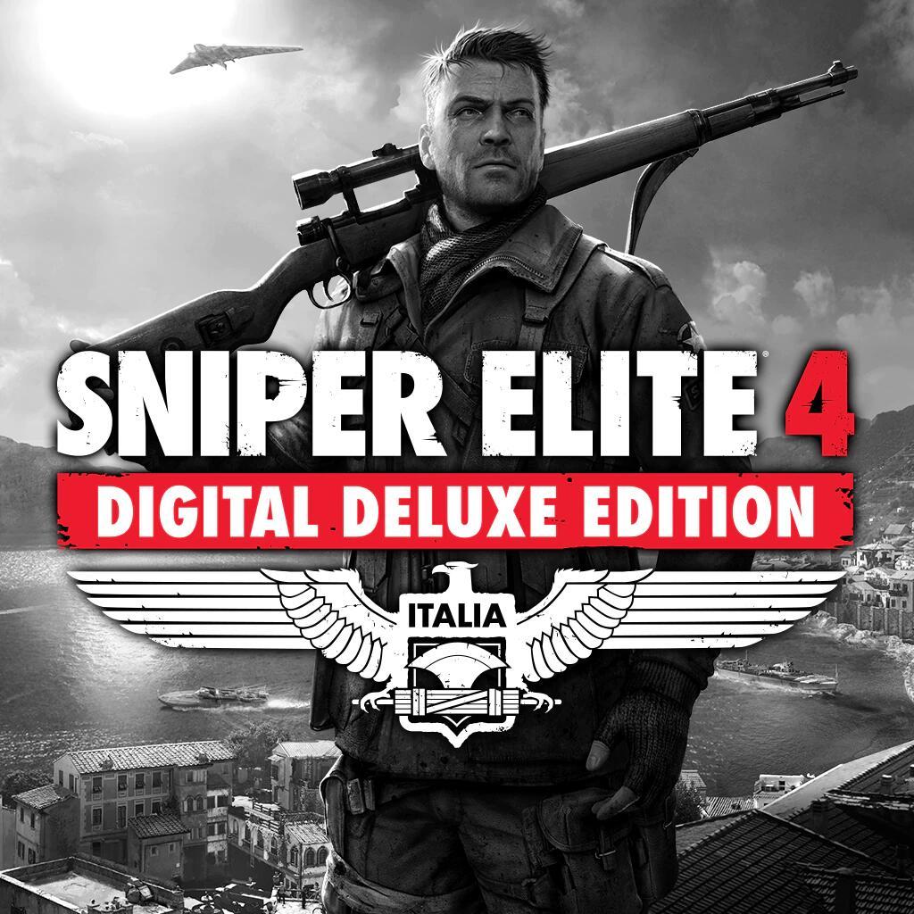 Sniper Elite 4 Digital Deluxe Edition sur PS4 (Dématérialisé)