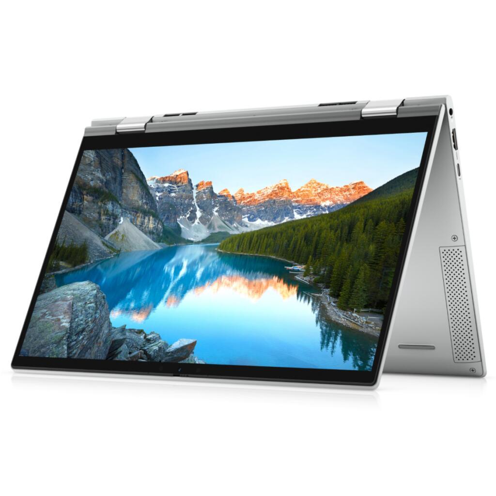 "PC Portable 2-en-1 13.3"" Dell Inspiron 13 7306 - FHD Tactile, i7-1165G7, RAM 16 Go 4267 MHz, SSD NVMe 512 Go, Thunderbolt 4, WiFi 6, Win 10"