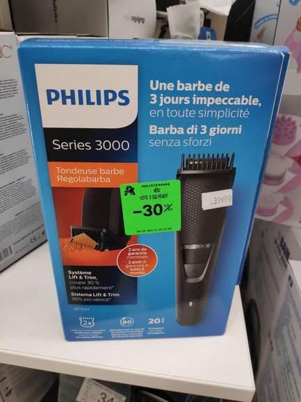 Sélection d'articles en promotion - Ex: Tondeuse barbe Philips series 3000 BT3227/14 - Meru (60)