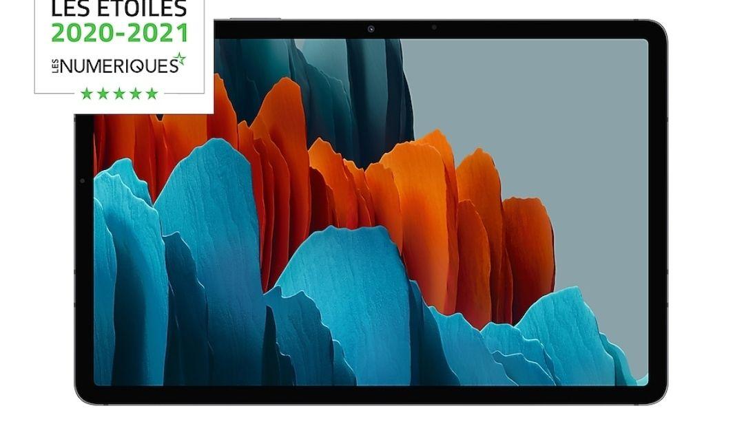 "[Étudiants/MACIF] Tablette 11"" Samsung Galaxy Tab S7 - 6 Go RAM, 128 Go ROM, Wi-Fi (via ODR de 100€) - Galaxy S7+ à 529.20€"