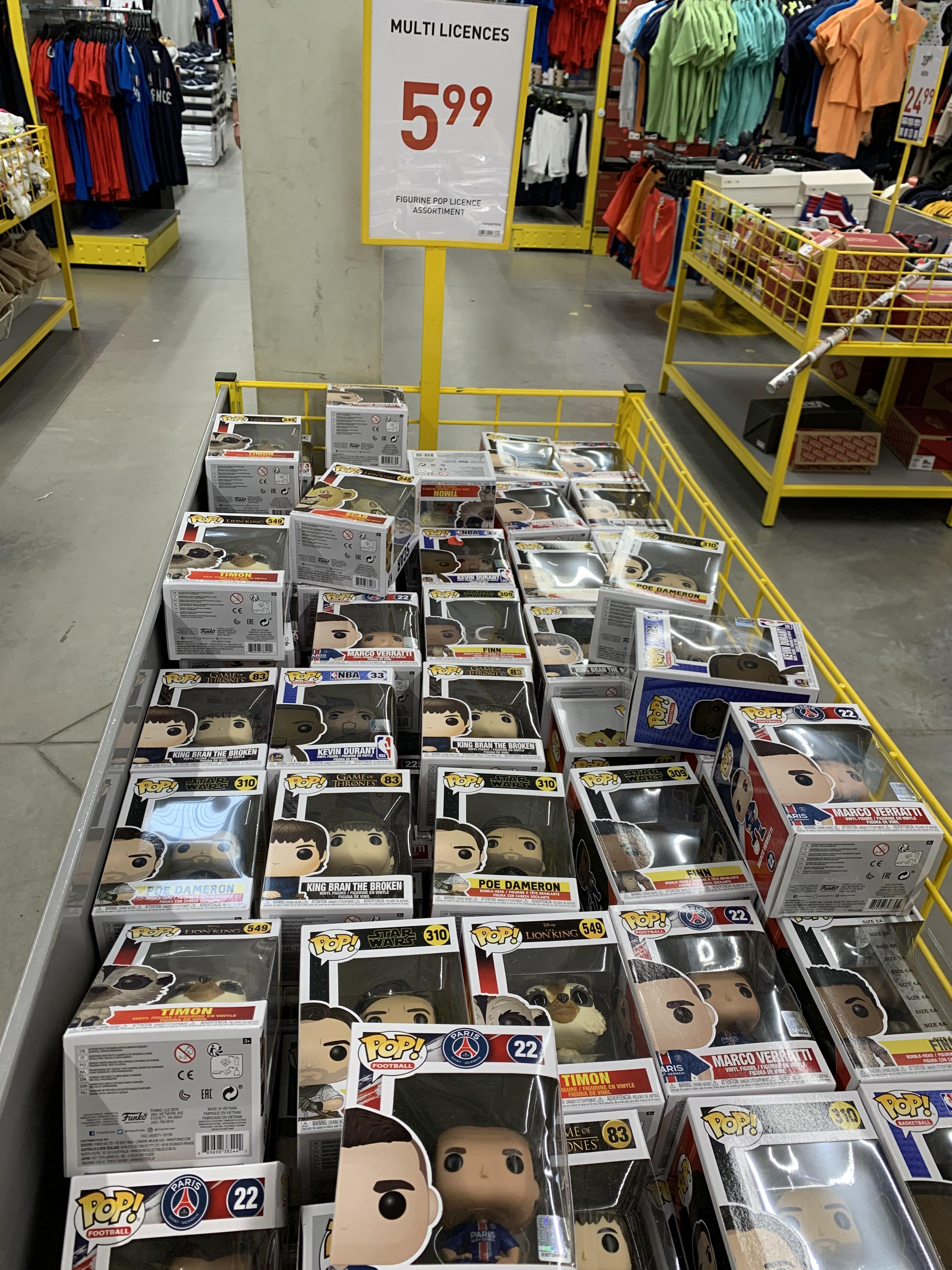 Sélection de figurines Funko Pop à 5,99€ - Terville (57)