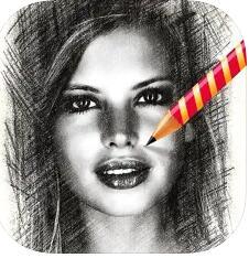 Application My Sketch - Pencil Sketches Gratuite sur iOS