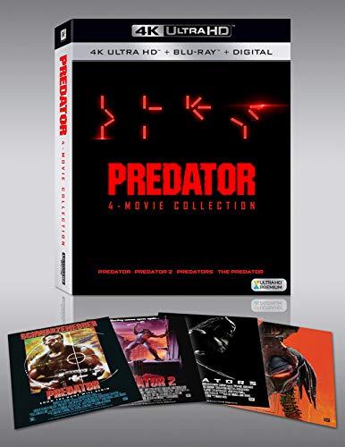 Coffret Blu-Ray 4K Predator : L'intégrale des 4 Films (Frais de port et d'importation inclus)