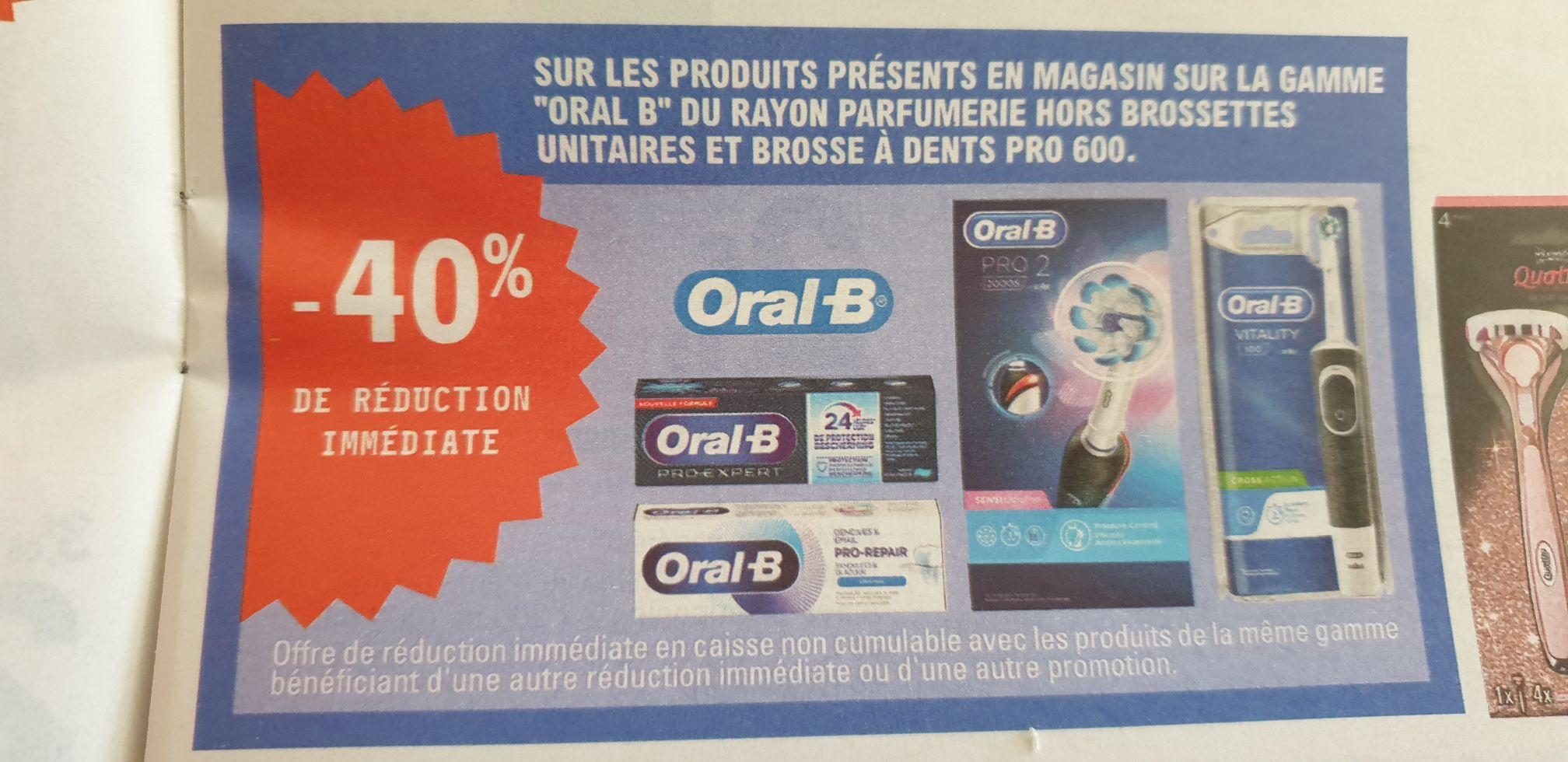 Dentifrice Oral-B Pro Expert Menthe extra fraîche - 75 ml (via Shopmium)