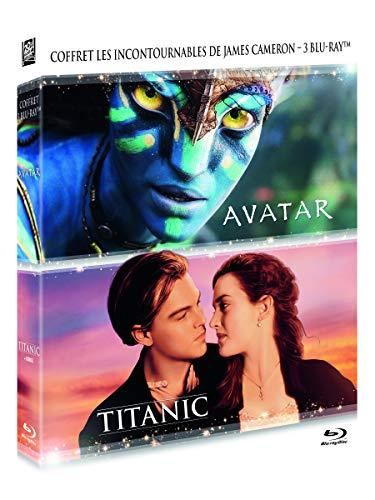 Coffret Avatar + Titanic 2 Films [3 Blu-Ray, inclus un Blu-Ray Bonus de Titanic]