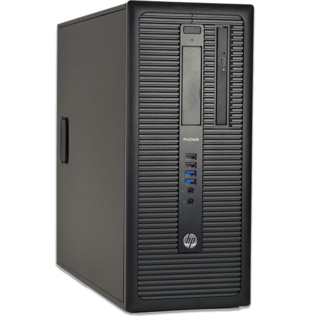 Ordinateur HP ProDesk 600 G1 MT (i3-4160, 8 Go de RAM, 250 Go en SSD, Windows 10, DVD-RW) - (Reconditionné)