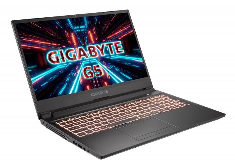 """PC portable 15.6"""" full HD GigaByte G5 KC-5FR1130SH - 144 Hz, i5-10500H, RTX-3060 Max-Q (6 Go), 16 Go de RAM, 512 Go en SSD, Windows 10"""