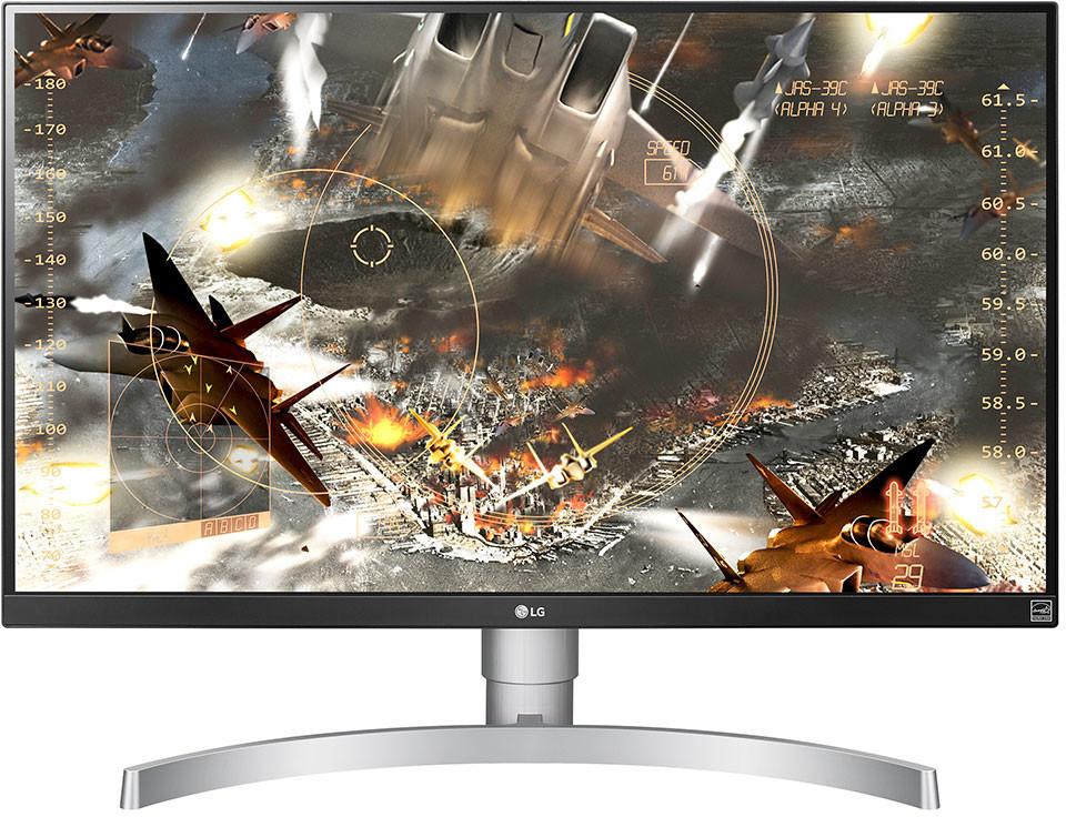 "Écran PC 27"" LG 27UL650-w - 4K UHD, HDR, LED IPS, 60 Hz, 5 ms, FreeSync"