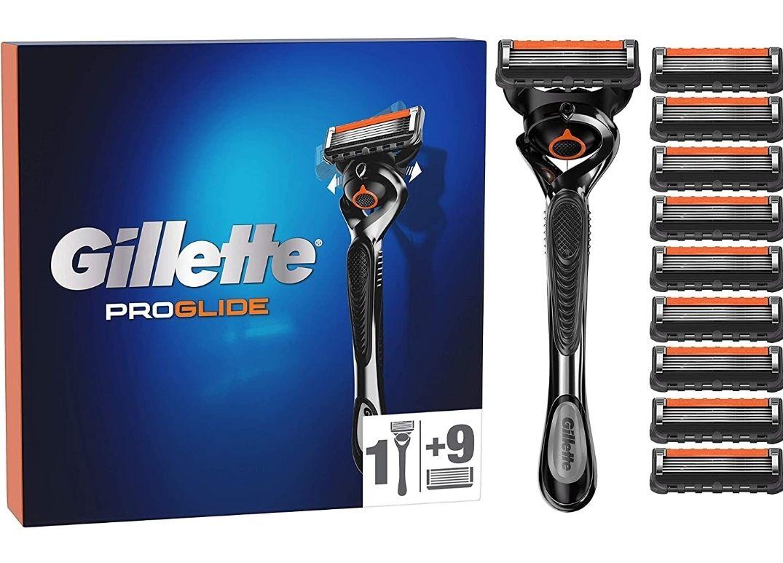 Pack rasoir Gillette Proglide + 10 Lames
