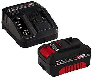 Kit batterie + chargeur Einhell Power X-Change - Lithium-Ion, 18 V, 4.0 Ah