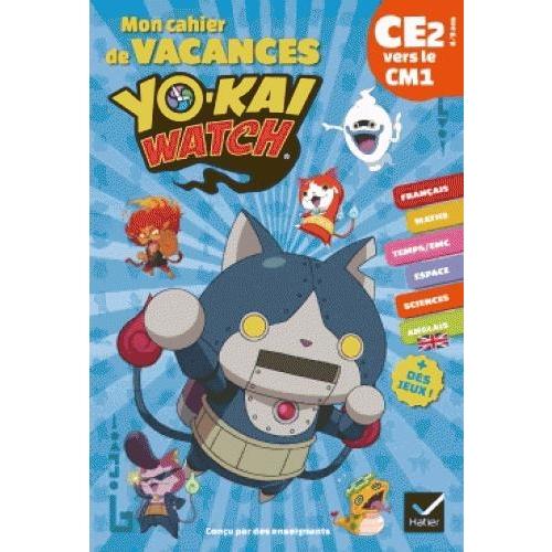 Cahier de vacances Yo-kai Watch - Divers niveaux