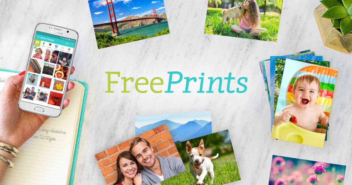 [Nouveaux Clients] 10 Photos gratuites + frais de port gratuit (ou 1,99€ offert) - FreePrints