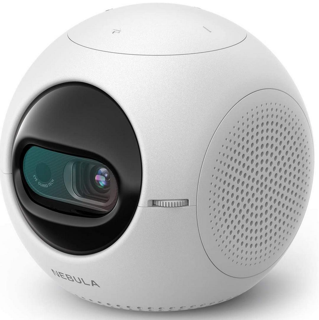 Projecteur Portable Nebula Astro - 100 lumens ANSI, Android 7.1, Blanc (vendeur tiers)