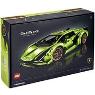 Sélection de jouets Lego en promotion - Ex : Jeu de construction Lego technic Lamborghini Sian n°42115 (via 80€ sur la carte)