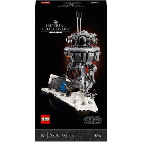 Jeu de construction Lego Star Wars (75306) - Droïde sonde impérial (Via 16.25€ sur Carte Fidélité)