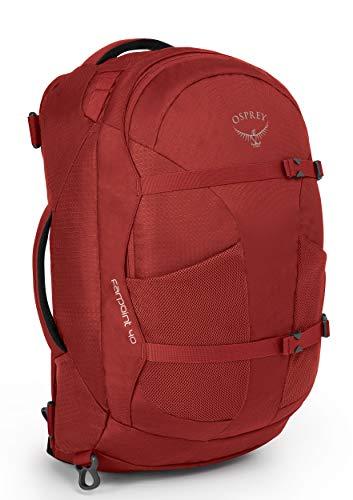 Sac de voyage Osprey Farpoint 40 - Rouge, Taille S/M