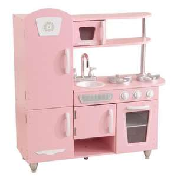 Cuisine pour enfant KidKraft en bois Rose Vintage - 53347