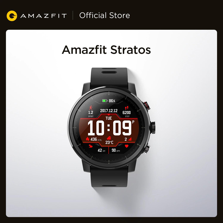 Montre connectée GPS Amazfit Stratos (Entrepôt Espagne)