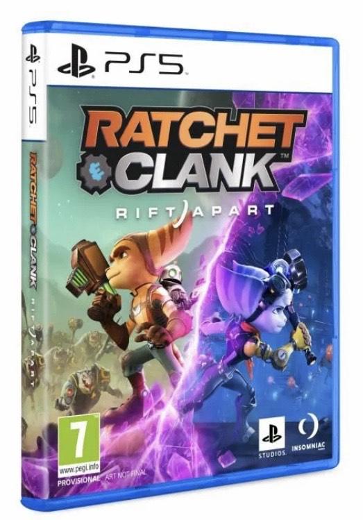 [Précommande] Jeu Ratchet & Clank Rift Apart sur PS5 (+15€ sur le Compte Fidélité CDAV)