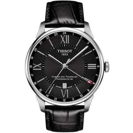 Montre Tissot Chemin des Tourelles Black Dial T099.429.16.058.00 (frais d'importation et douanes inclus) - WatchMaxx.com