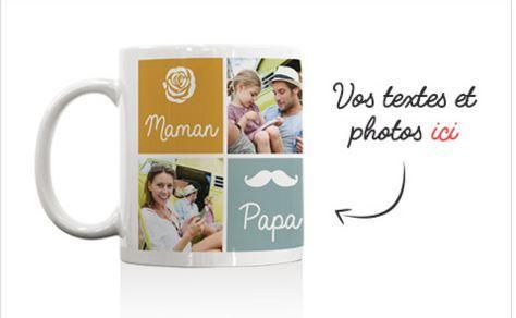 Mug à personnaliser  (frais de port 4.90€)