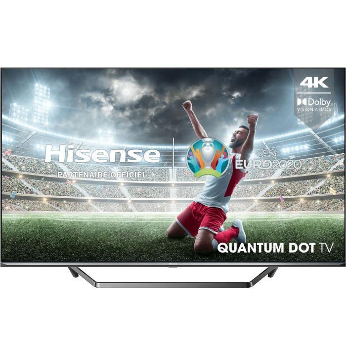 "TV 55"" Hisense 55U65QF (2021) - QLED, 4K, HDR10+, Dolby Vision & Atmos, Smart TV, Quantum Dot (via 150€ ODR)"