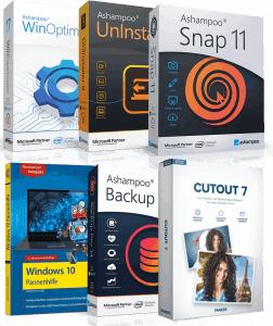 6 logiciels avec licences gratuites à vie sur PC (Dématérialisés - snapfrog.de) - Ex : Ashampoo UnInstaller 9