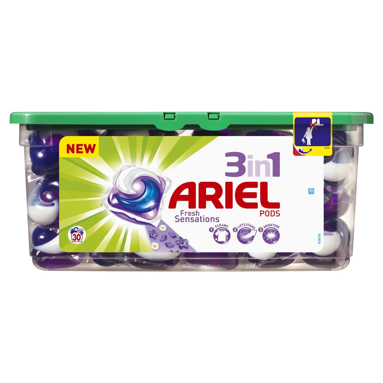 1 lessive Ariel éco-doses Pods 3en1 achetée = la 2ème offerte
