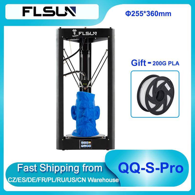 Imprimante 3D FLSUN QQ-S Pro Delta (Entrepôt France)