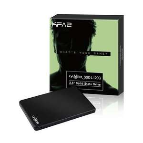 "SSD interne 2.5"" KFA2 Gamer (MLC) - 240 Go à 59.75€ et 120 Go"