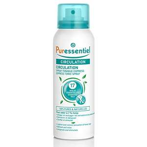 Spray Tonique Express Puressentiel Circulation aux 17 Huiles Essentielles