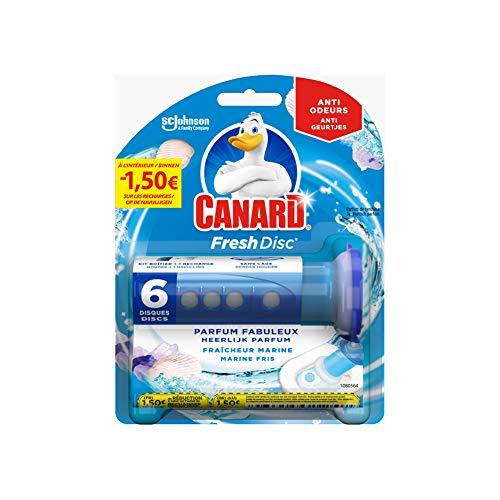 Nettoyant Fraîcheur Canard WC Fresh Disc Marine - 6 Disques