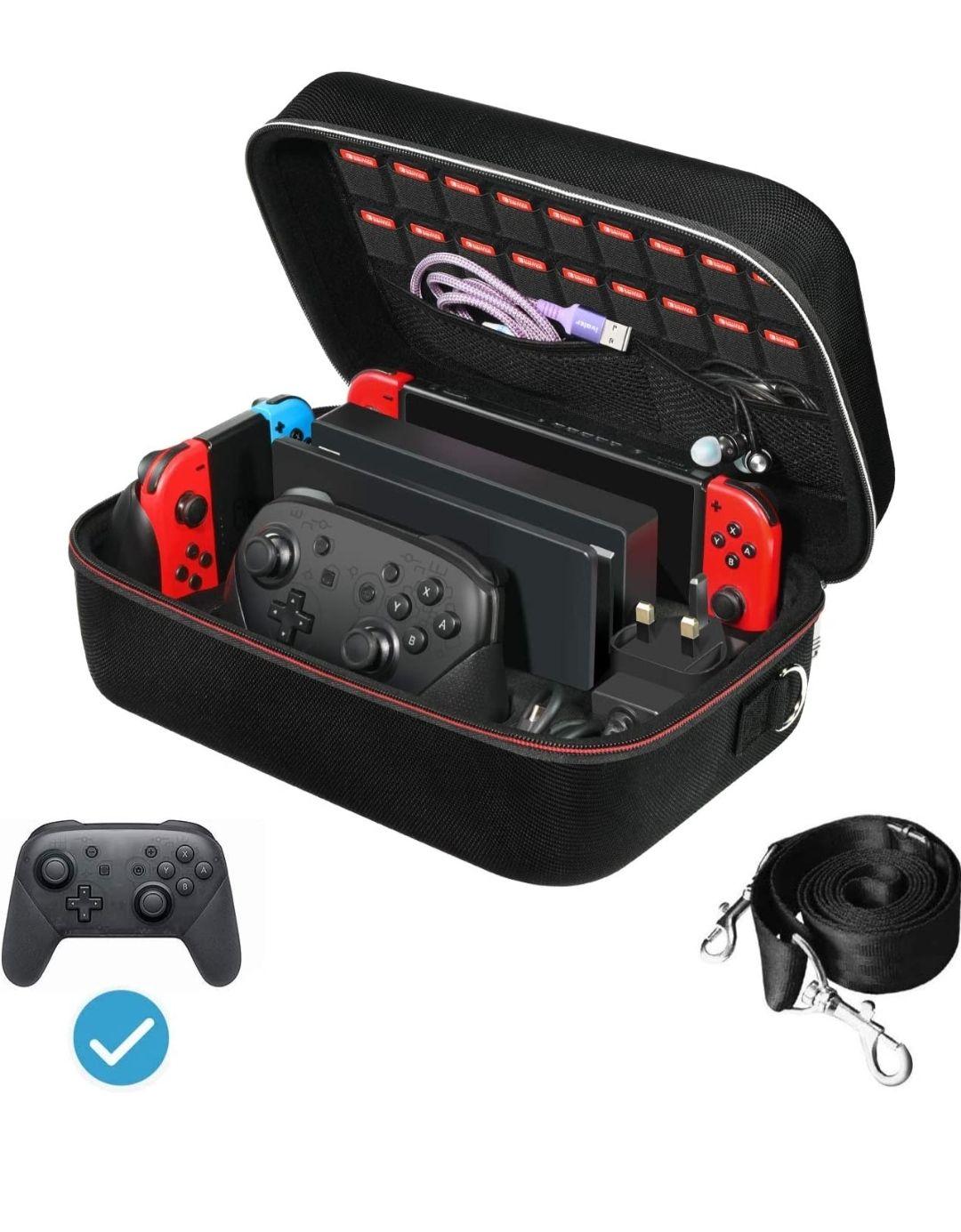 Etui deluxe pour Nintendo Switch (Vendeur tiers)