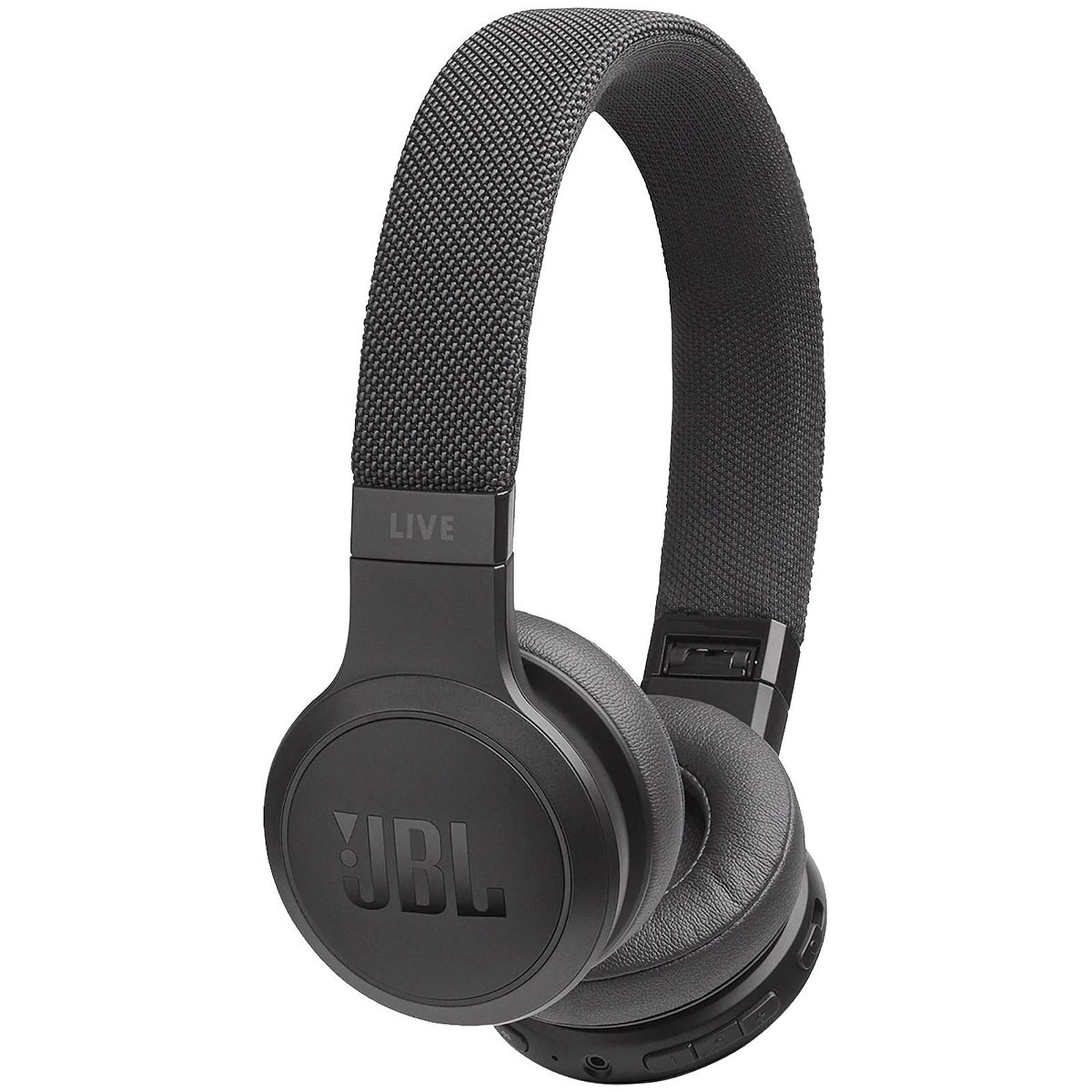 Casque audio Bluetooth JBL LIVE 400BT - Noir ou Blanc (Reconditionné - Garantie de 2 ans)