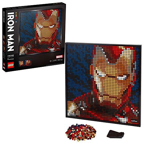 Cadre Artistique Lego Art Ironman (31199)
