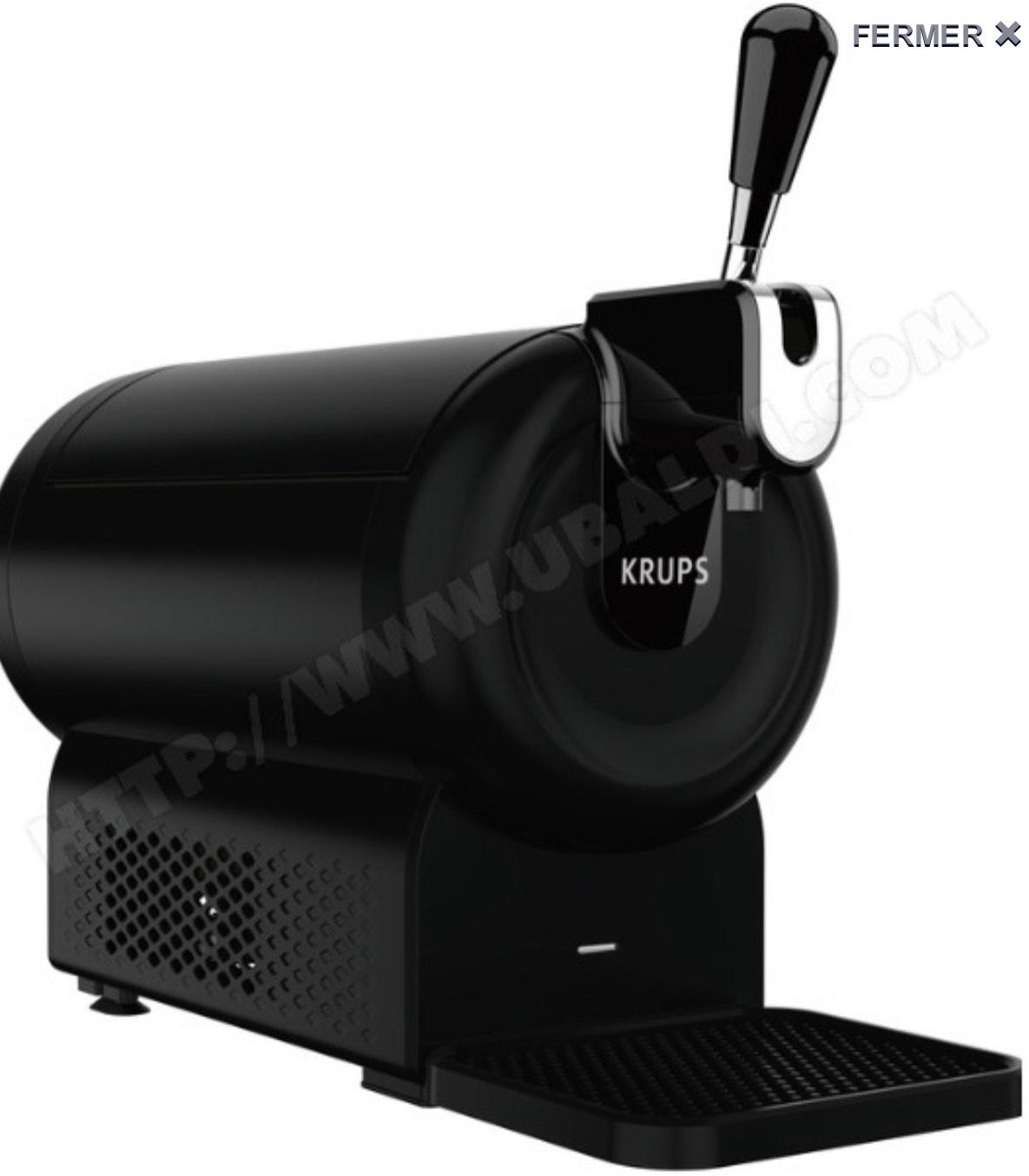 Distributeur de bière Krups VB641B10 The Sub Compact