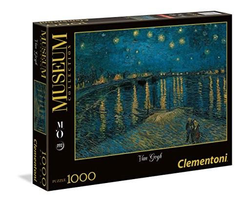 Puzzle Clementoni 39344.2 - Nuit étoilée sur le Rhône - 1000 Pièces