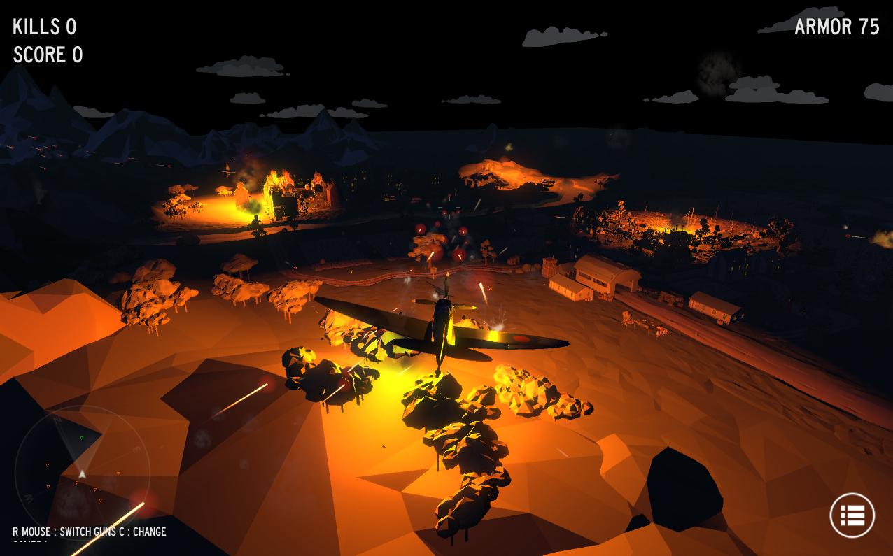 Jeu World War 2 Dogfight Simulator gratuit sur PC, Mac & Linux (Dématérialisé - DRM-Free)