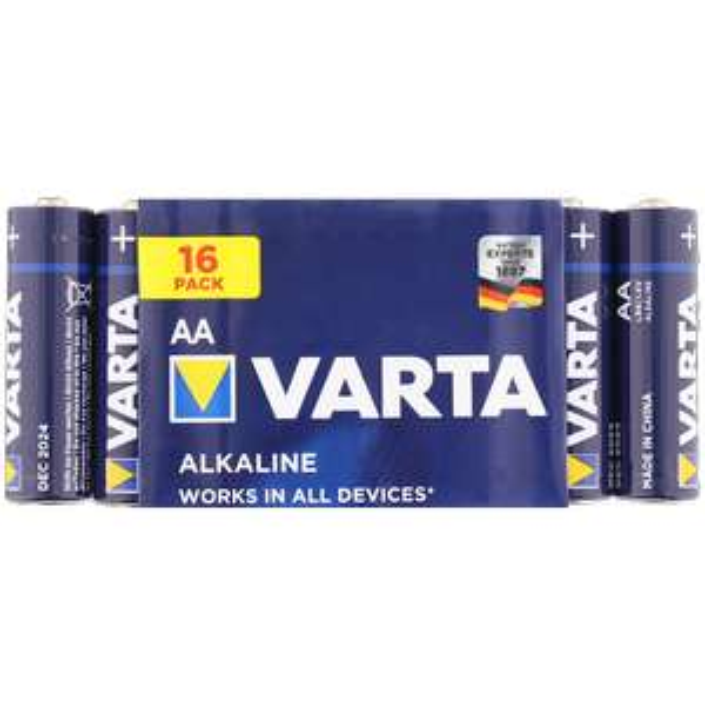 Paquet de 16 Piles Varta LR6 - AA