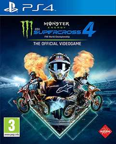 Monster Energy Supercross - The Official Videogame 4 sur PS4 ou PS5 (vendeur tiers)