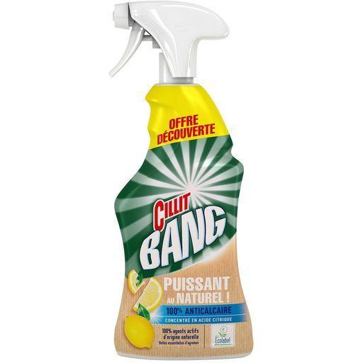 Cillit Bang Nettoyant spray (divers variété) - Ex : Anticalcaire puissant au naturel