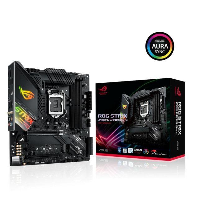 Carte Mère Asus Rog Strix Z490-G Gaming (WI-FI) - micro-ATX