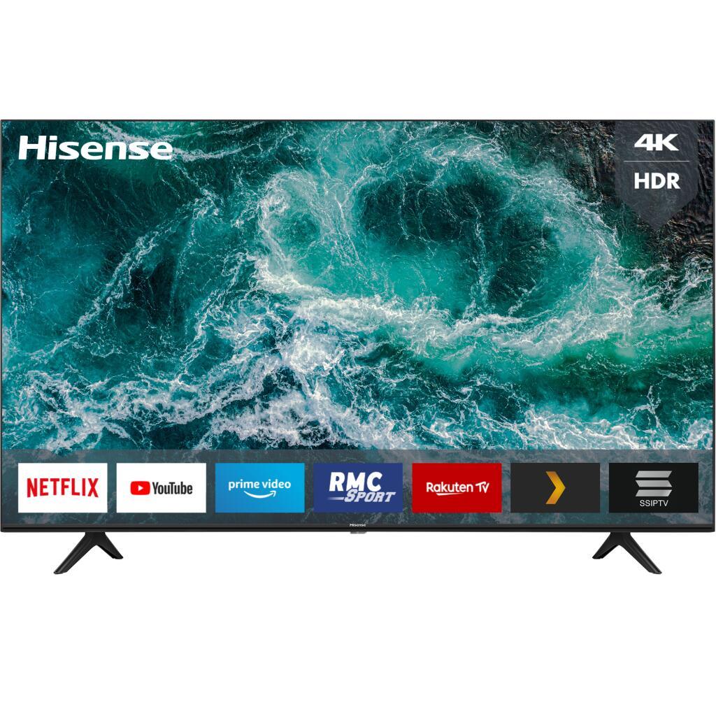 "TV 65"" Hisense 65A7100F - 4K UHD, LED, HDR 10+, Smart TV, MEMC, dbx-tv / DTS Studio Sound (via ODR de 50€)"