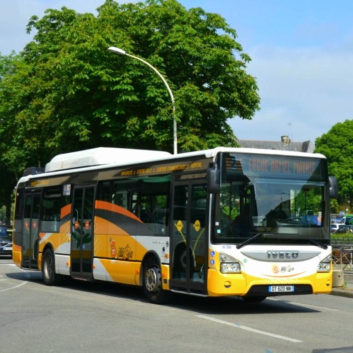 Circulation gratuite sur le réseau de Bus QUB du 23 au 27 juin inclus - Quimper (29)