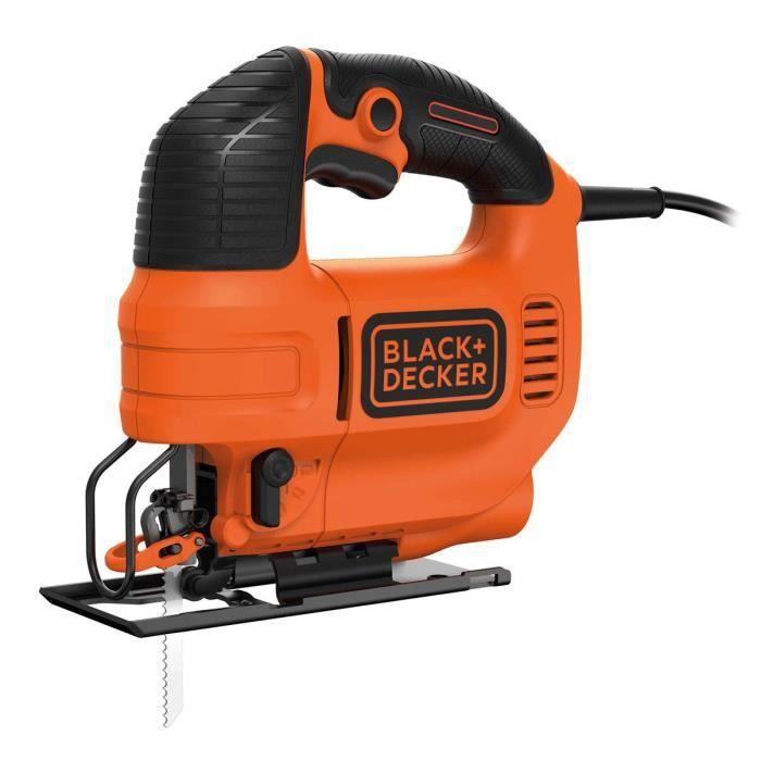 Scie sauteuse Black & Decker KS701E - 520 W, 70mm